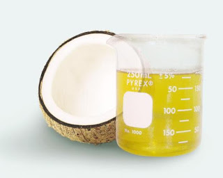 haar kokosolie
